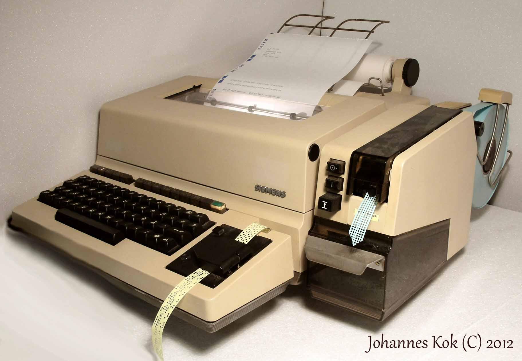 My Teletype / RTTY / Telex collection Telescrivente
